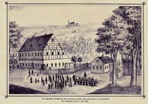 Eröffnung des Dorothea Stolln